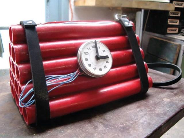 Bomb purse