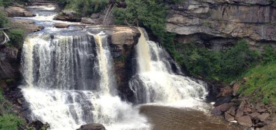 west Virginia Blackwater Falls
