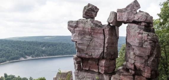 Wisconsin Devil's Lake State Park