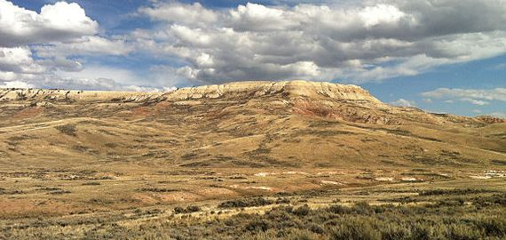 Wyoming Fossil Butte National Monument