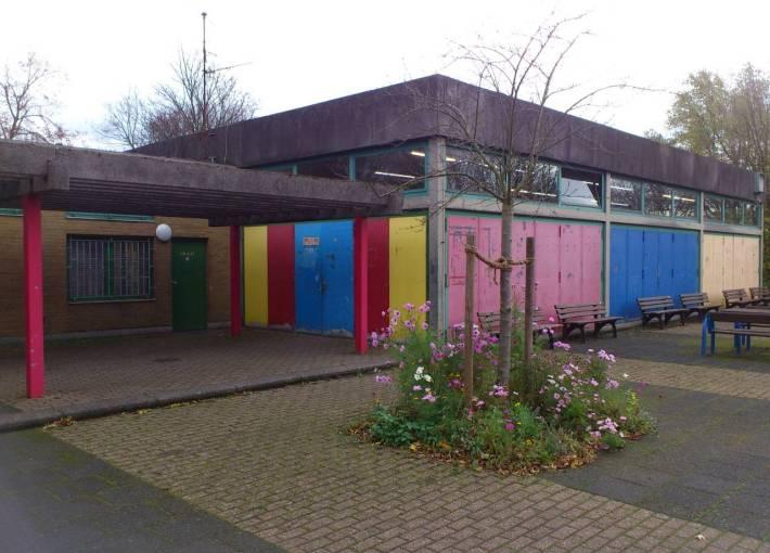 Tischtennishalle im Freizeitpark Ulenbergstraße