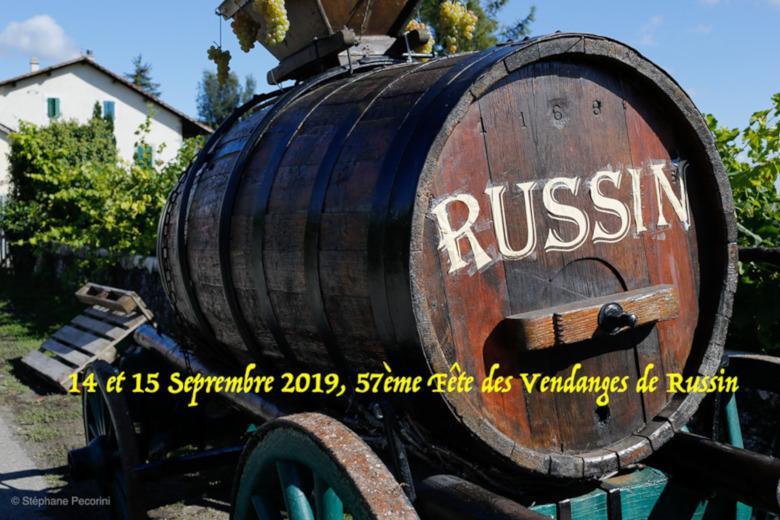 fetes des vendanges russin 2019