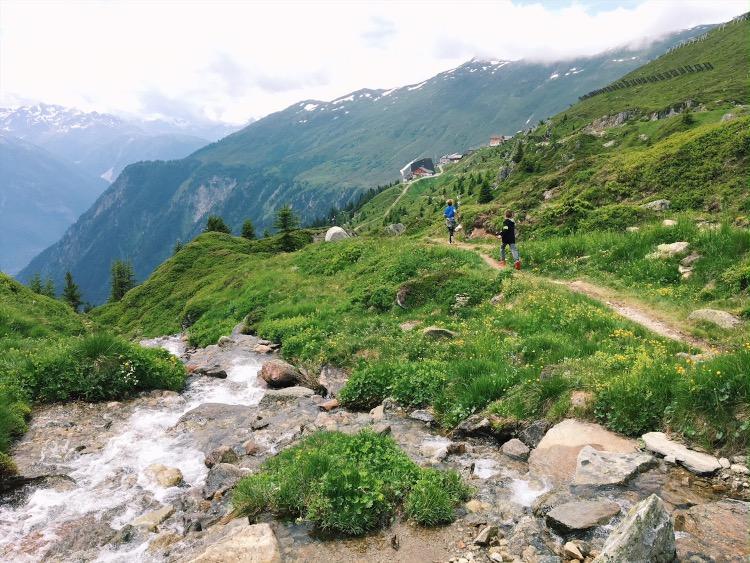 summer trips in Switzerland