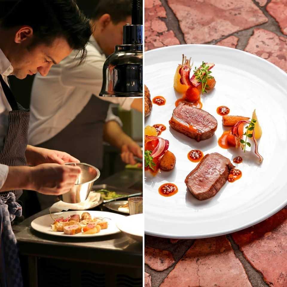Michelin star restaurant Geneva