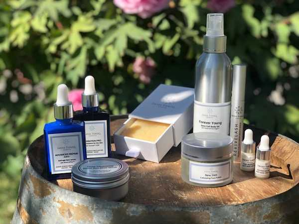 organic beauty products Switzerland