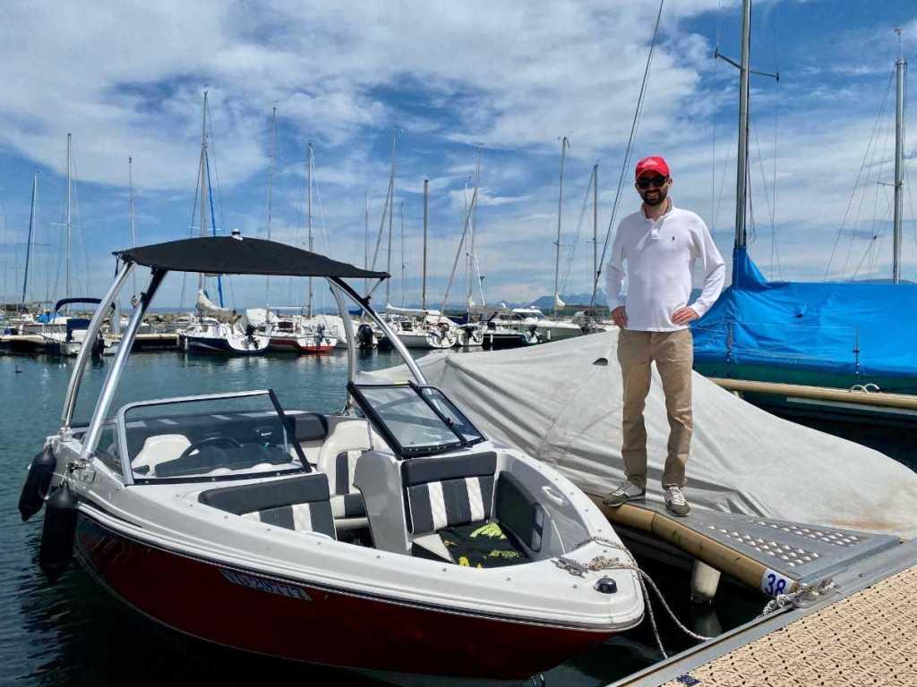 Geneva Nyon Boat