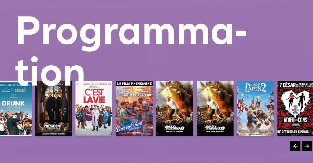 Allianz Cinema Geneve programme