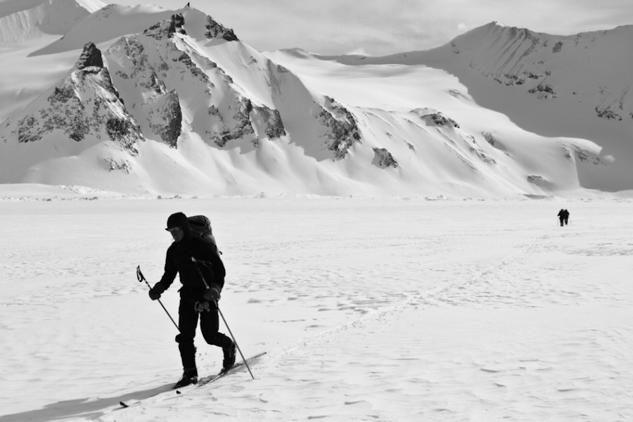 Eben Sargent, Nizina Glacier