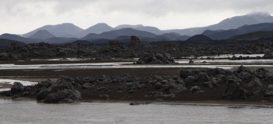 Upper Jökulsá á Fjöllum view