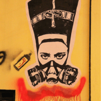 Feminist Street Art Sparked by the Egyptian Revolution