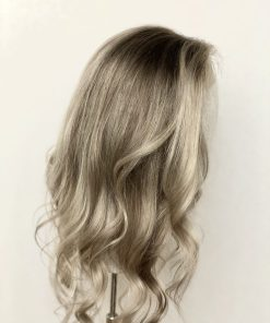 Lace Top Lowlighted Ash Blonde