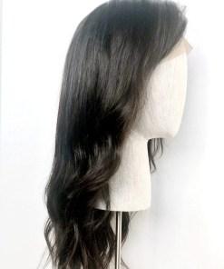 Soft Black Silk2Lace Wig
