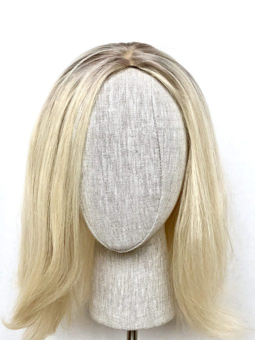 THT Topper: Ice Blonde - Medium Length