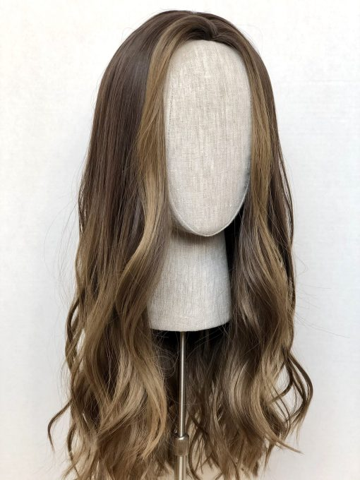 Synthetic Wig: Beach Brunette