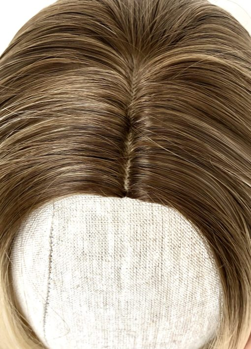 Synthetic Wig: Platinum