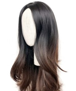 Synthetic Wig: Midnight Ombre