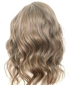 THT Topper: Lace Front Light Brown - Medium Length