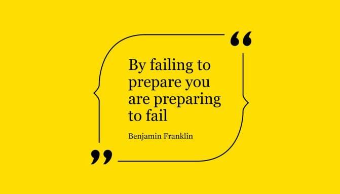 Fail prepare to prepare fail