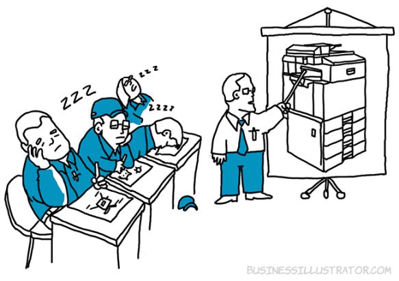 Nói về cái mình có luôn là thứ gây buồn ngủ nhất trong các buổi training