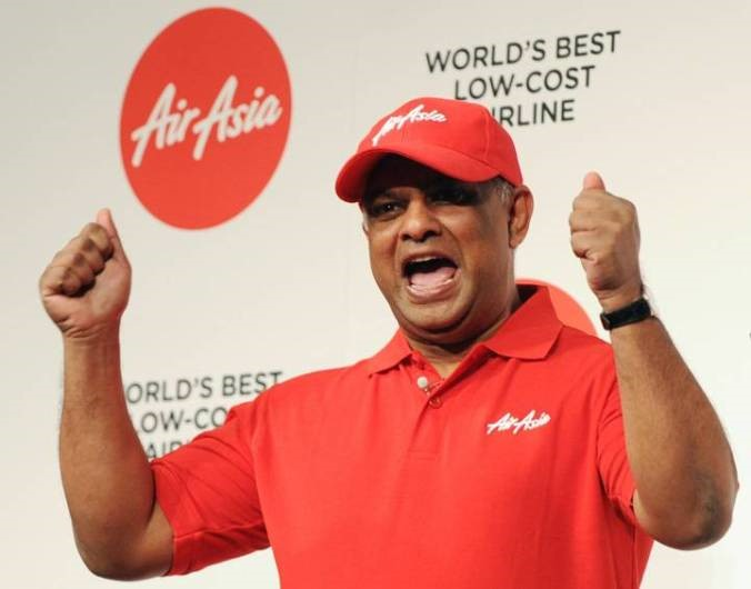 CEO Tony Fernandes của Air Asia