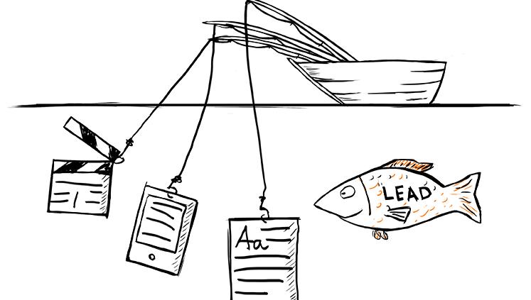 Lead được tạo ra từ các chiến dịch Marketing