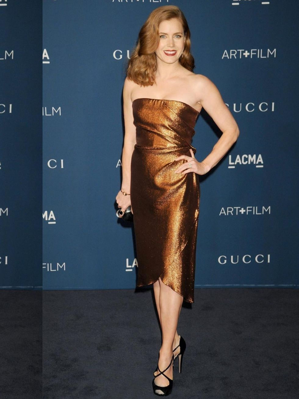 Amy Adams wears a Gucci