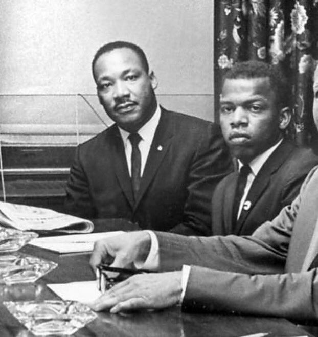 John Lewis and martin luther