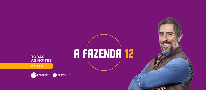 AFazenda 12 Premieres On September 8 On Record TV
