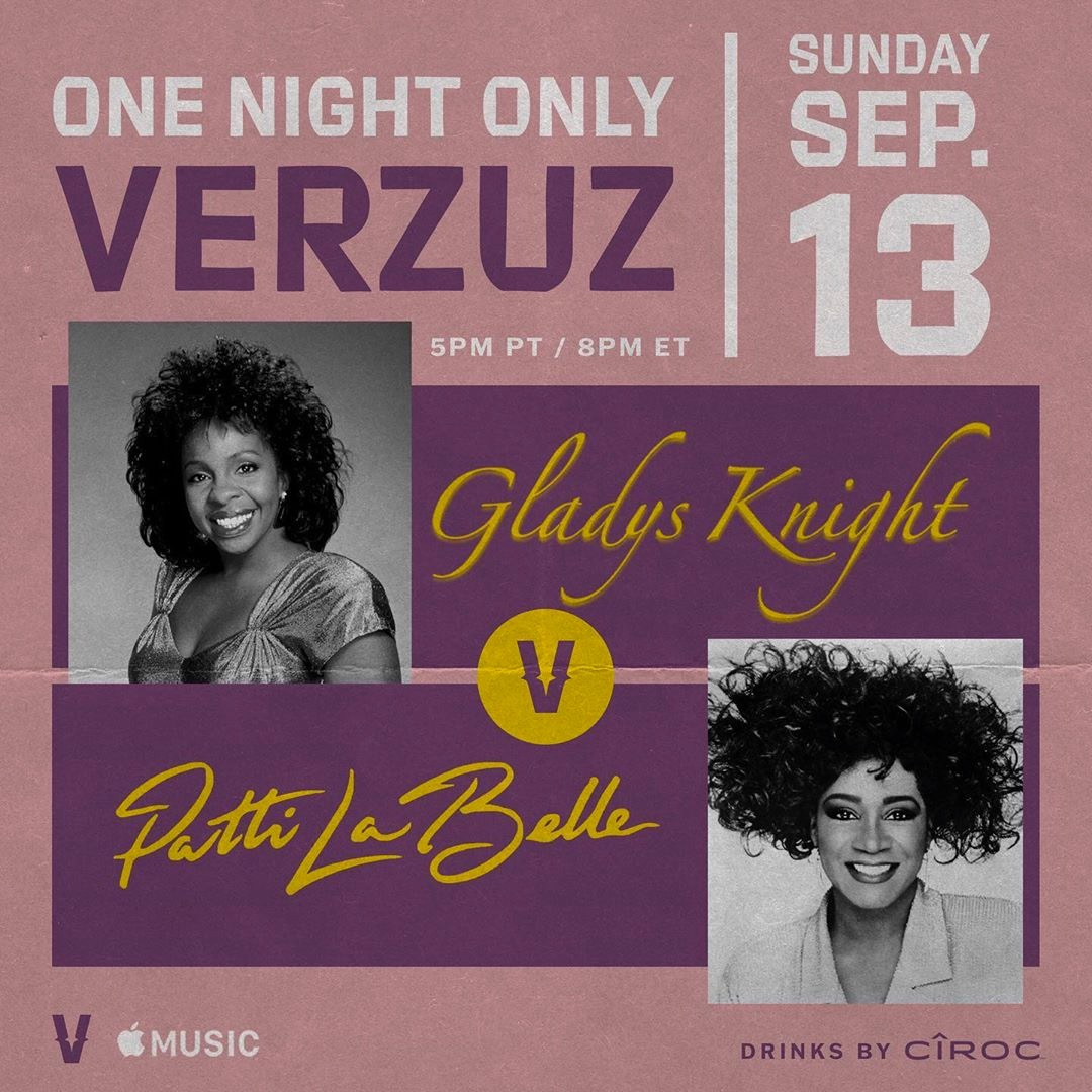 Patti LaBelle And Gladys Knight At Verzuz