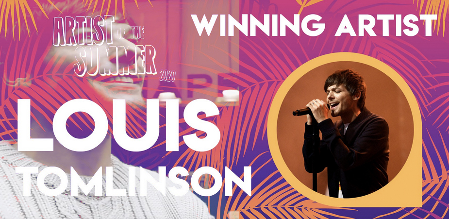 Louis Tomlinson Won Artist Of The Summer 2020
