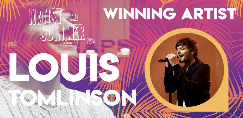 Louis Tomlinson Won Artist Of The Summer 2020