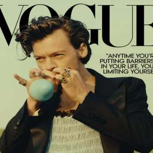 Harry Styles Become The First Solo Man To Grace The Cover Of US Vogue