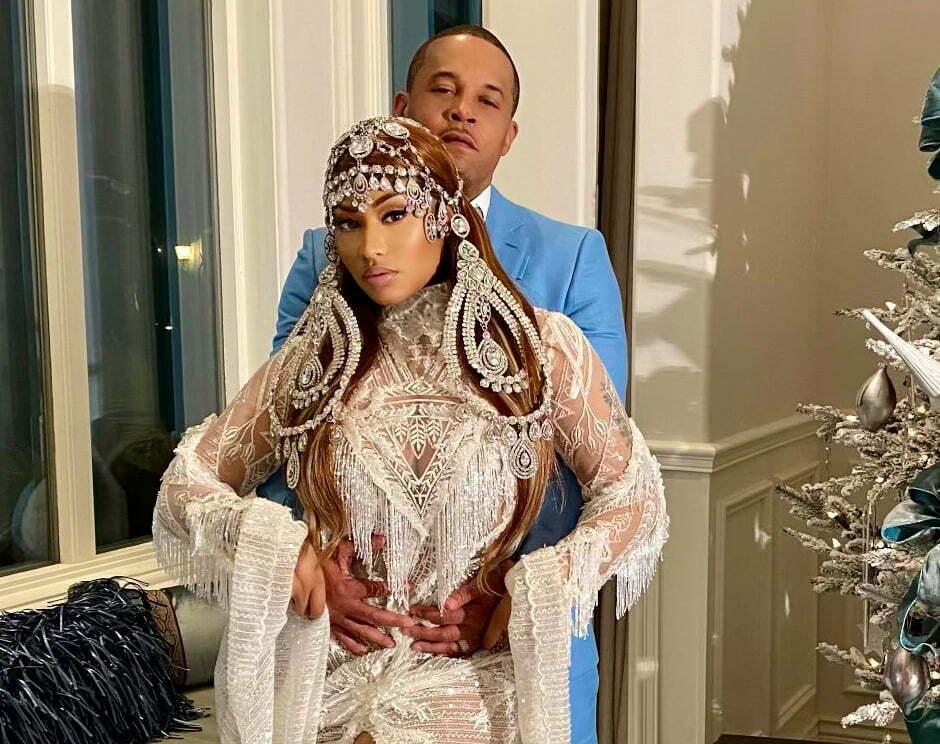 Nicki Minaj Christmas Outfit 2020