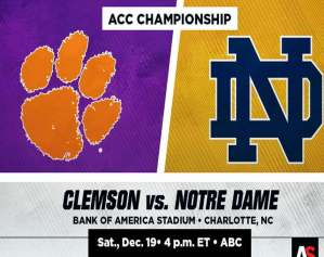 How To Watch ACC Championship Online ?