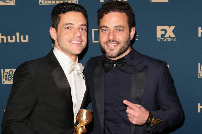 Rami Malik's twin brother