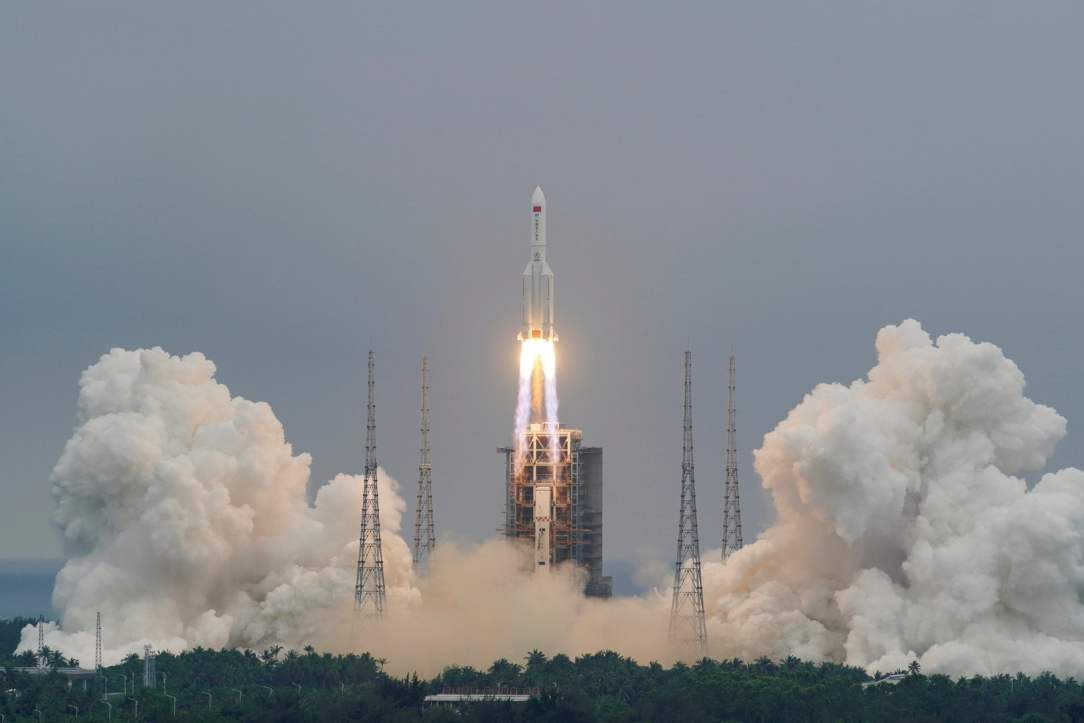 Chinese Rocket Falling To Earth : Potential Fall Areas