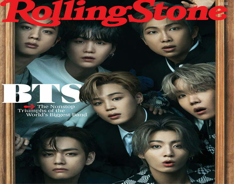 BTS Shined In Louis Vuitton Clothes For Rolling Stone Magazine Sessions