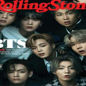 Stunning BTS Shined In Louis Vuitton Clothes For Rolling Stone Magazine