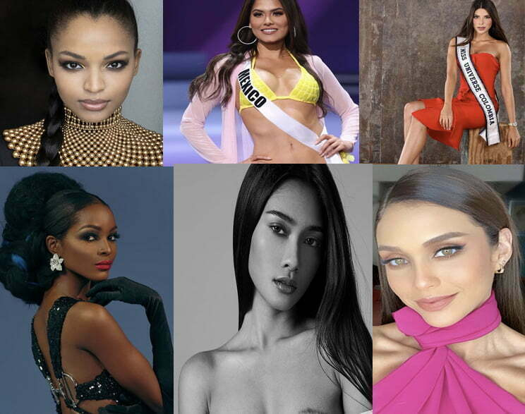 MISS Universe 2021 Top 21 List And Their Instagram Accounts