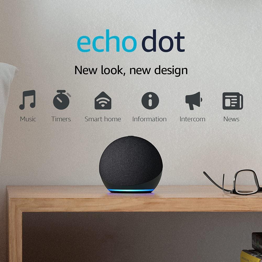 Echo Dot 4th Gen Smart Speaker With Alexa 2021