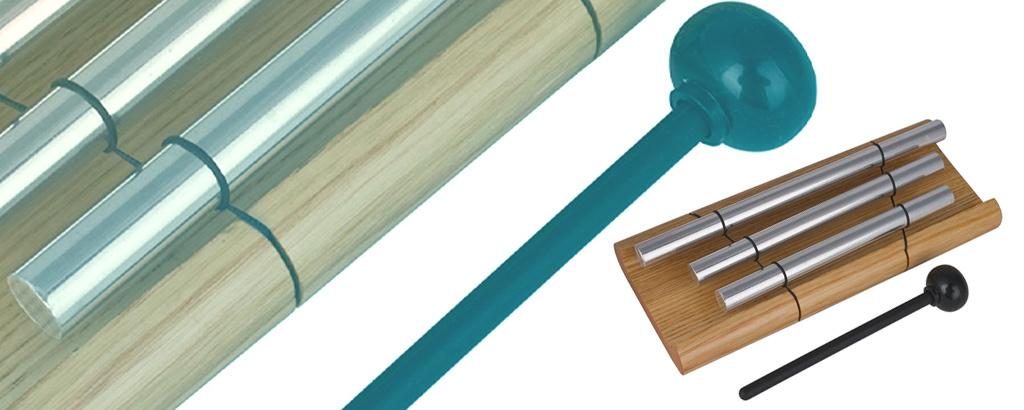 Training Bag Tools - TH!NK Training - Wood Chimes