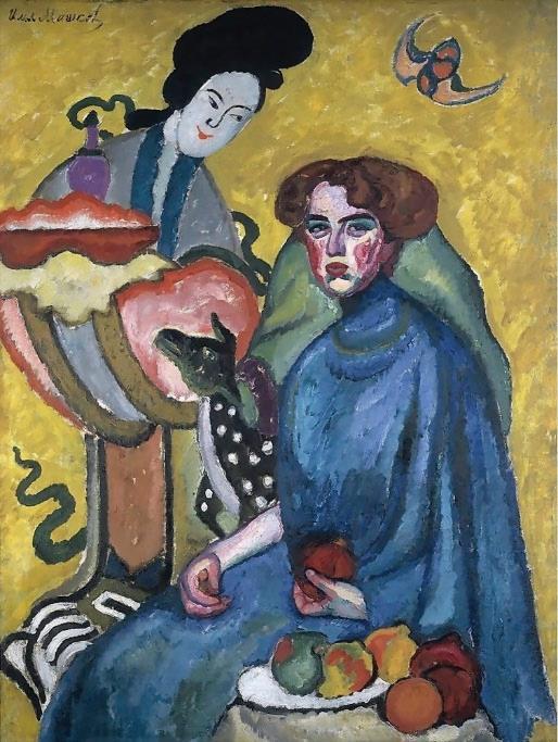 Ilya Mashkov《吉爾加迪女士的肖像》
