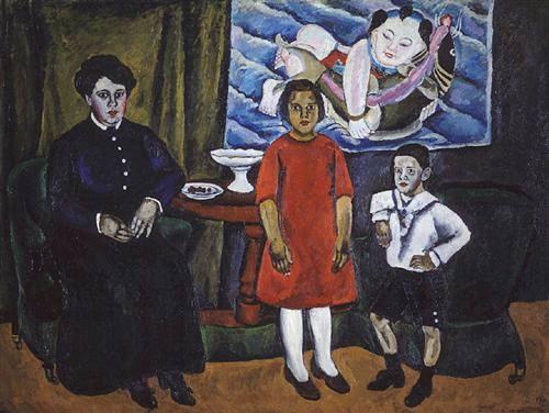 Pyotr Konchalovsky《家庭畫像》