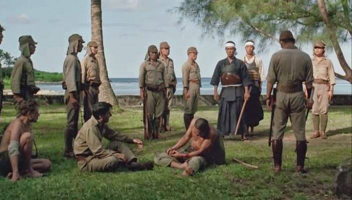 電影《俘虜》中的切腹場景