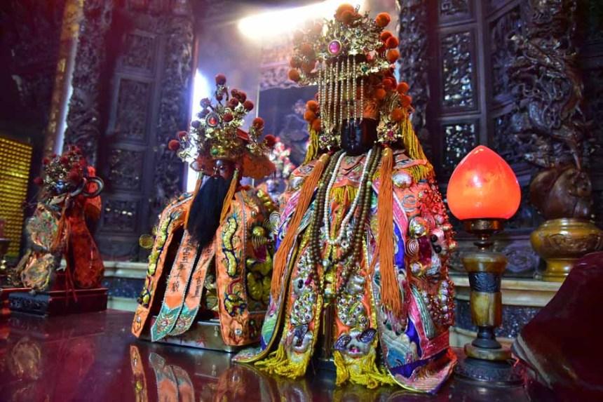五年千歲、麥寮媽祖是五股內多數村庄的共同信仰。