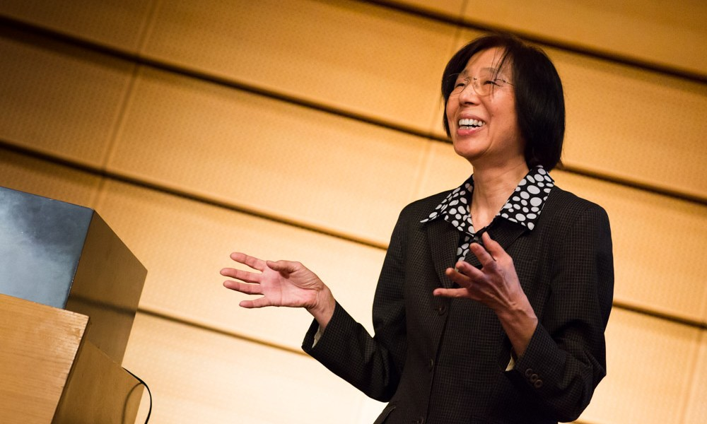 Kuniko Miyanaga is a cultural anthropologist and linguist and works on questions of globalization, identity and language. Photography by Thaddeus Pope