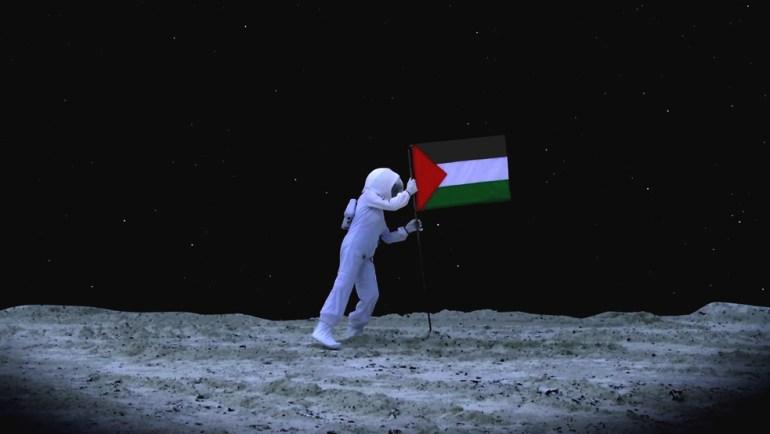 Space Exodus, Larissa Sansour. © Larissa Sansour, with permission.