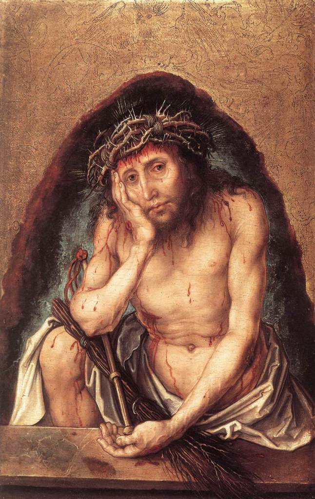 Christ as the Man of Sorrows – Durer Jared Baxter THINK