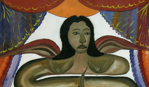 Damballah_La_Flambeau_Hector_Hyppolite André Breton Surrealism: A Global Cultural Movement with Local Political Agency
