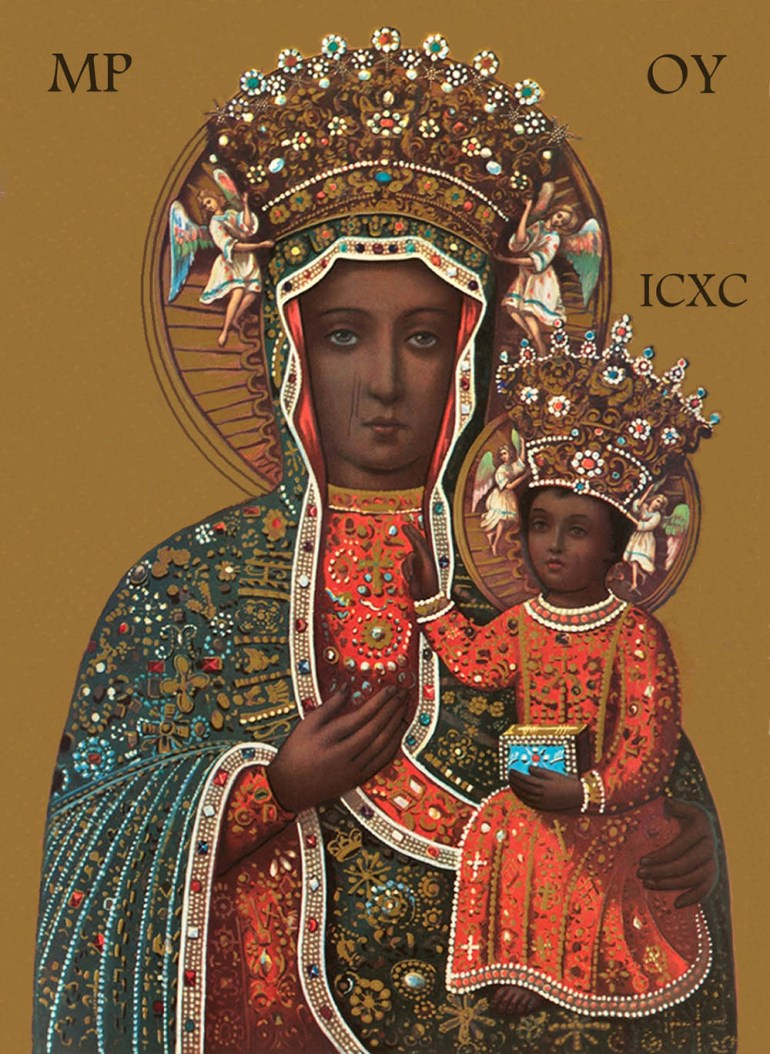 The Black Madonna of Czestochowa